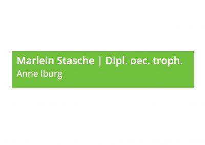 Marlein Stasche (Dipl. oec. troph., DA)
